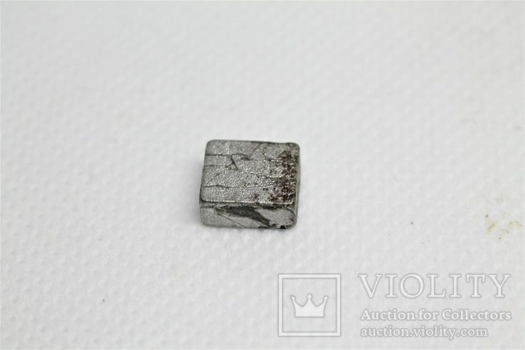 Заготовка-вставка з метеорита Seymchan, 2,36 г, із сертифікатом автентичності, фото №5