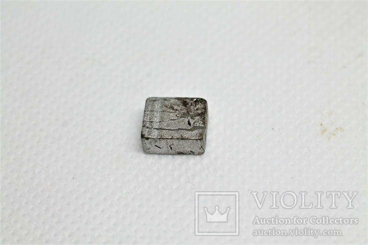 Заготовка-вставка з метеорита Seymchan, 2,36 г, із сертифікатом автентичності, фото №7