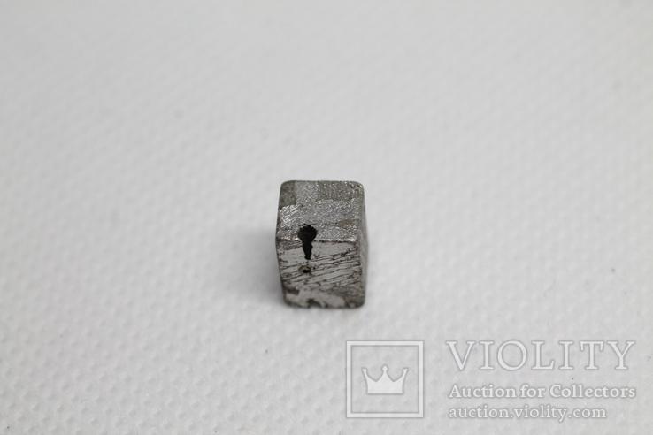 Заготовка-вставка з метеорита Seymchan, 3,37 г, із сертифікатом автентичності, фото №8
