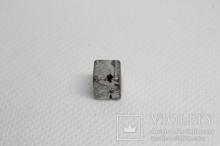 Заготовка-вставка з метеорита Seymchan, 3,37 г, із сертифікатом автентичності, фото №9