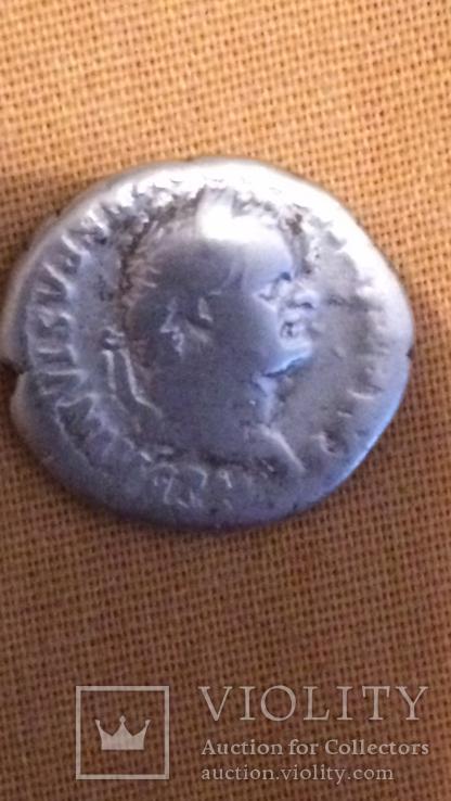 Динарий Веспасиан, фото №2
