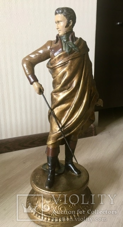 Скульптура,  Carl Kauba (1865-1922), Австрия XIX ст., подписная, 47,5 см.