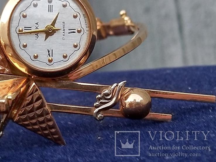 Чайка на оригинальном браслете, фото №7