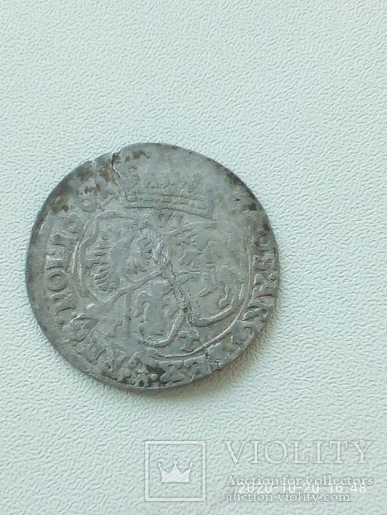 6  грошів 1661 р. Ян ІІ Казимир., фото №4