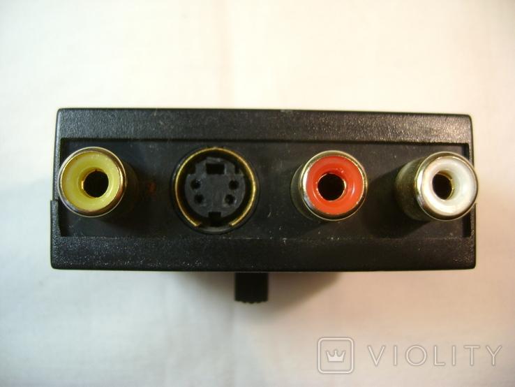 Переходник SCART - VIDEO, AUDIO, S-VIDEO с переключателем вход-выход, фото №4