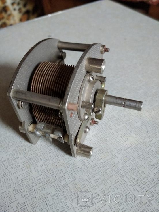 Конденсатор переменной ёмкости  .500 пф, фото №2