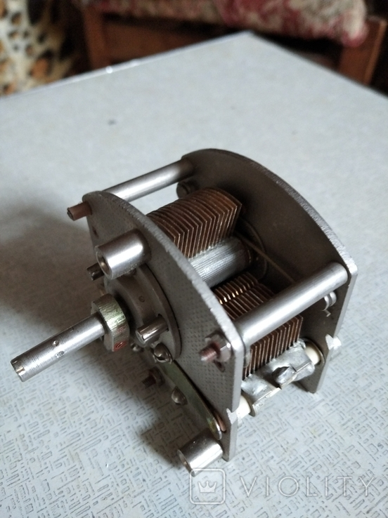 Конденсатор переменной ёмкости  .500 пф, фото №3