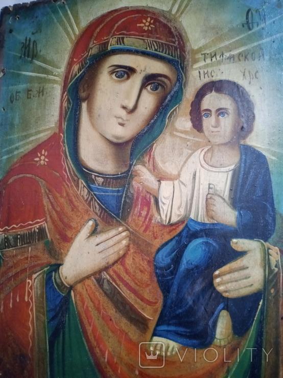 Ікона Божої Матері 18×23, фото №2