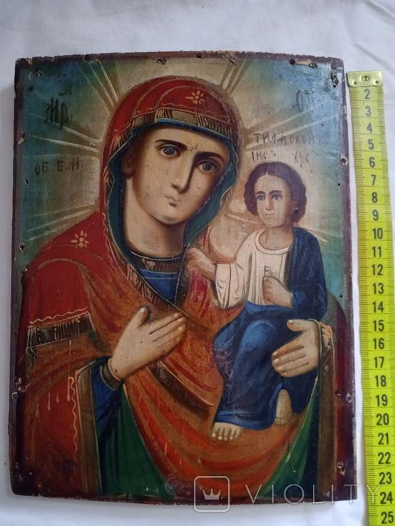 Ікона Божої Матері 18×23, фото №5