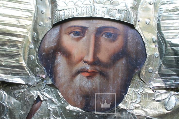 Икона Николай Чудотворец 40/32 см., фото №5