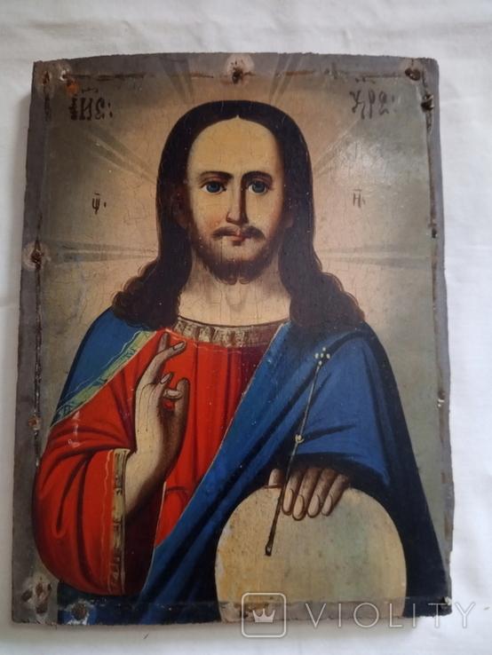 Ікона Ісус Христос Вседержитель 14,5×19, фото №2