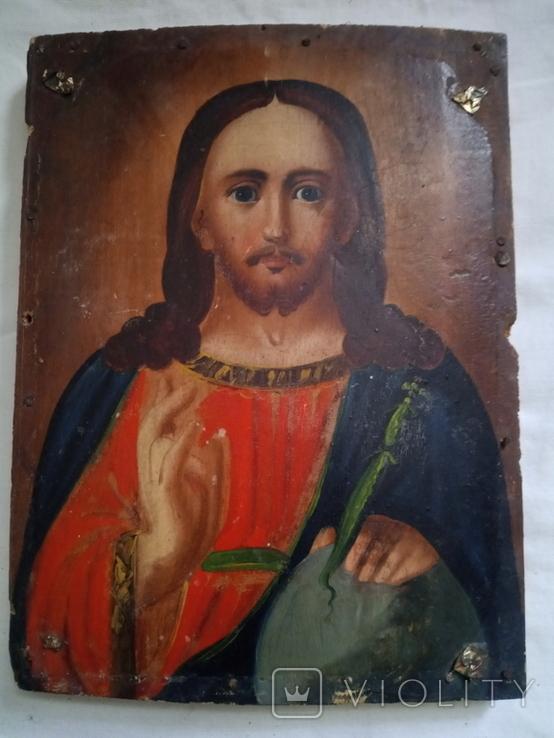 Ікона Ісус Христос Вседержитель 14×18, фото №7