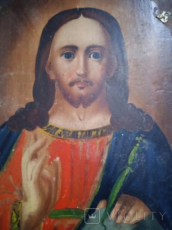 Ікона Ісус Христос Вседержитель 14×18, фото №8