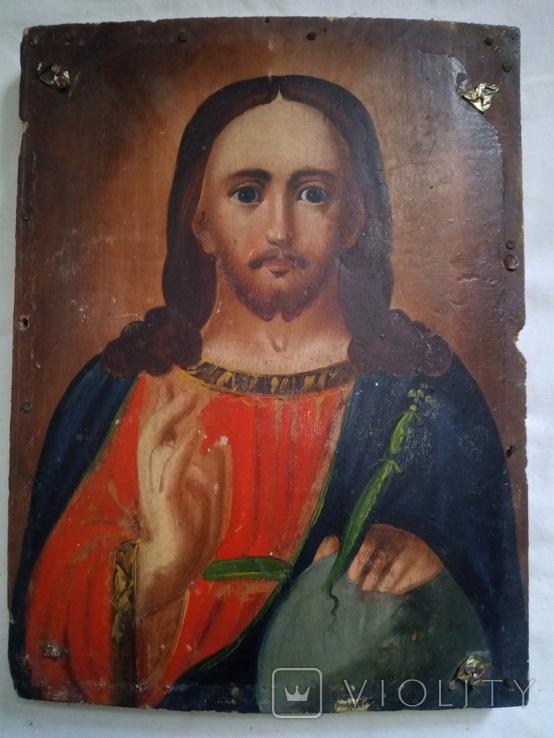 Ікона Ісус Христос Вседержитель 14×18, фото №2