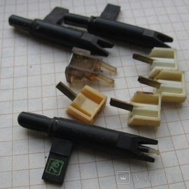 Звукоснимательные иглы, под восстановление- 8 шт., фото №6