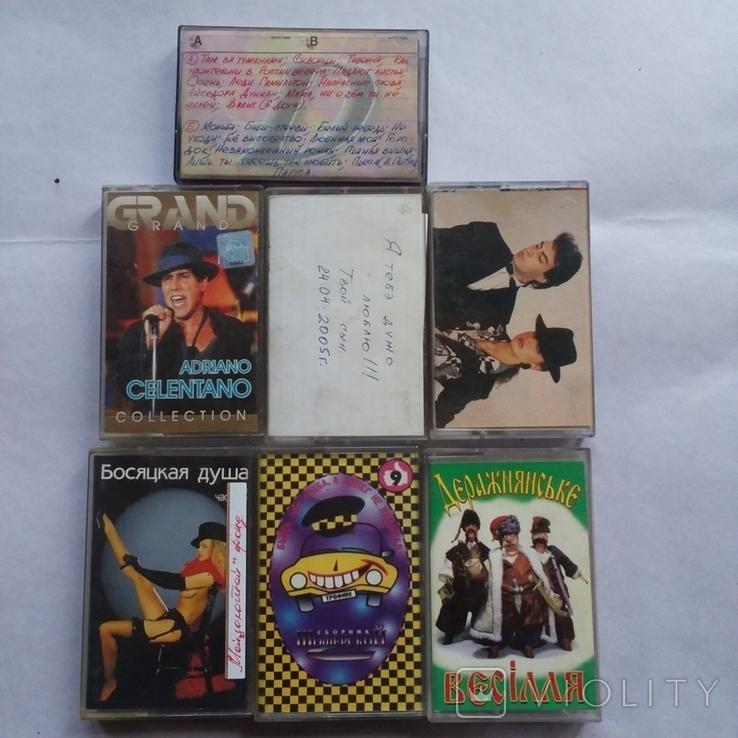 Аудиокассеты шансон 25 шт, фото №8