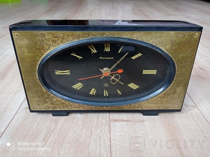 Часы Янтарь электромеханические, фото №2