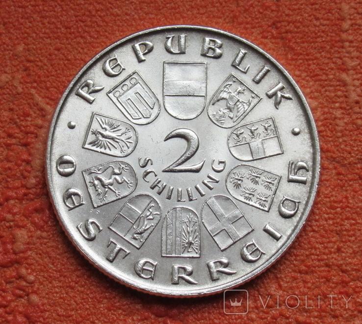 "2 шиллинга 1930 г. Австрия, ""Вальтер фон дер Фоельвайде"", серебро, фото №6"