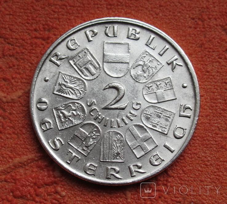 "2 шиллинга 1928 г. Австрия, "" Франц Шуберт "", серебро, фото №8"