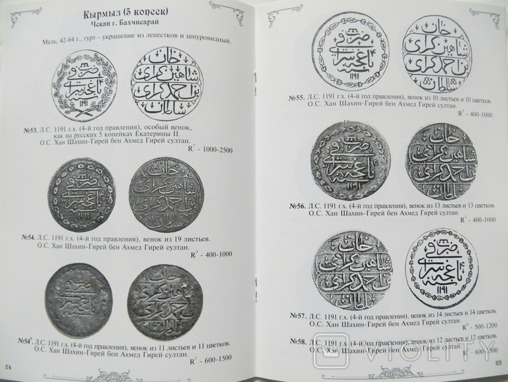 Каталог монет крымского хана Шахин-Гирея, фото №6