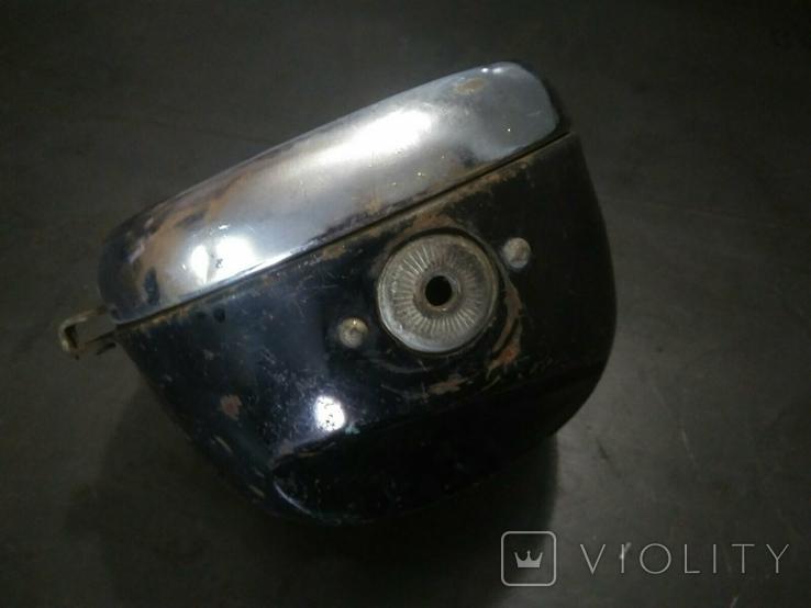Фара средних размеров ретро мотоцикла ссср, фото №3