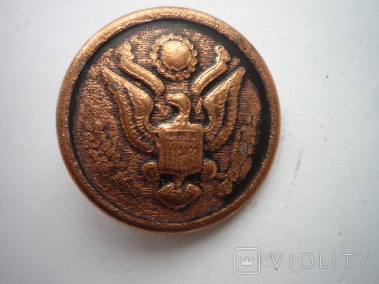 Старая  пуговица, фото №3