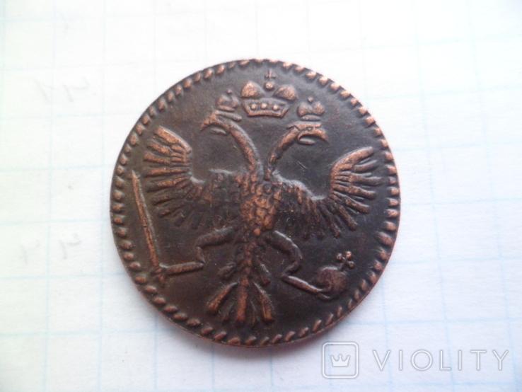 Грошь 1724 год   копия, фото №4