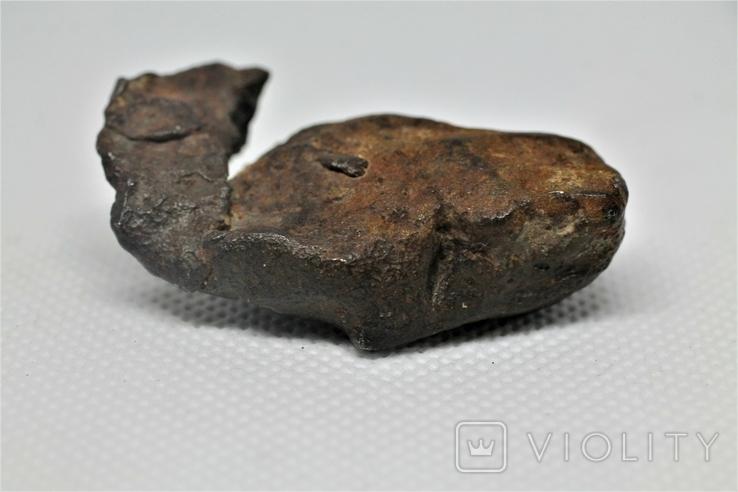Залізний метеорит Gebel Kamil 70,6 г з сертифікатом автентичності, фото №8