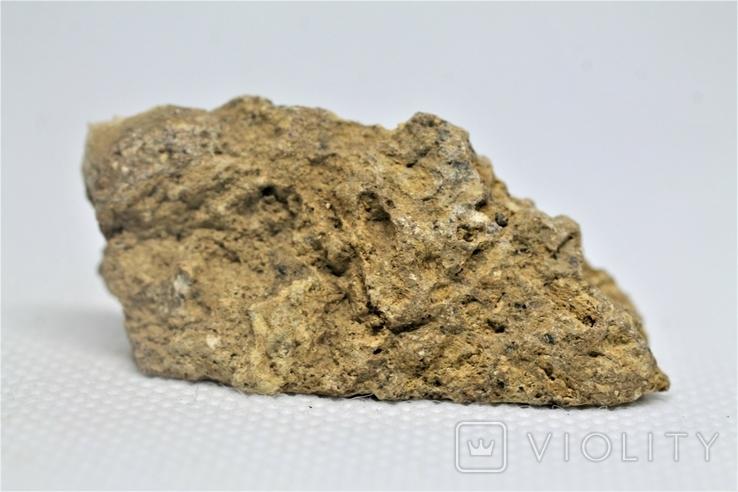 Імпактна брекчія Іллінецького кратеру, 12,6 г, з сертифікатом автентичності, фото №7