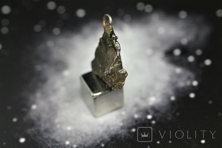 Кулон із залізного метеорита Campo del Cielo, із сертифікатом автентичності, фото №6