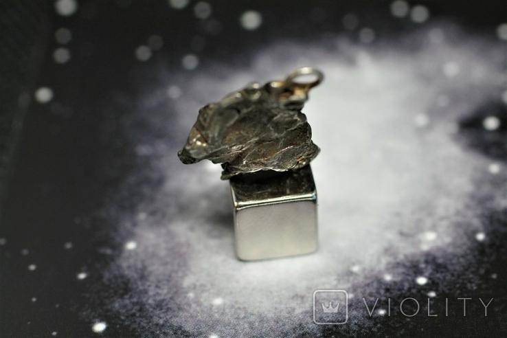 Кулон із залізного метеорита Campo del Cielo, із сертифікатом автентичності, фото №7