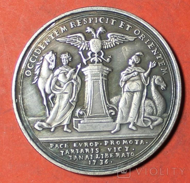 В память победы над турками при Азове 1736 г копия, фото №2