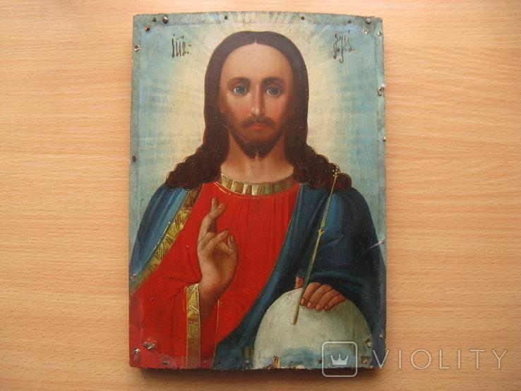 Икона. Иисус Христос Вседержитель, фото №2