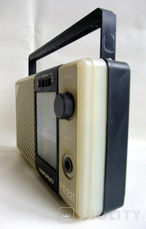 Радиоприемник Альпинист РП-221 драгсодержащие элементы платы., фото №7