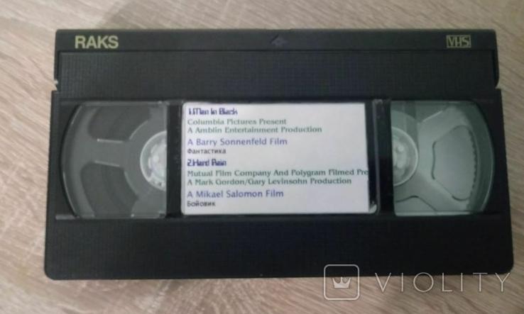 Відеокасета Raks E-195, фото №2