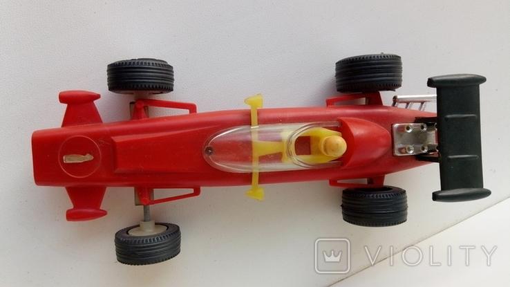 Машинка гонка красная (№ 1), фото №7
