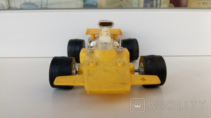 Машинка гонка желтая (№ 2), фото №8