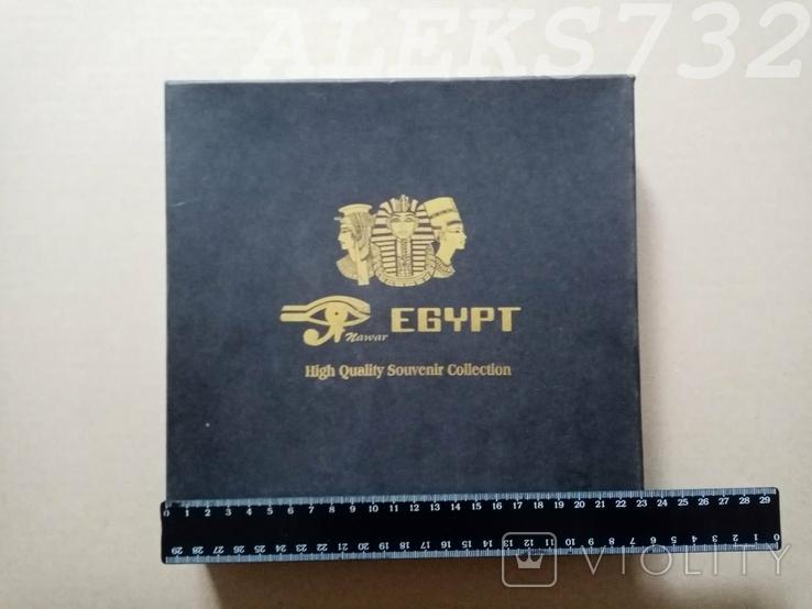 Колекционные блюдце с Египта в упаковке, фото №4