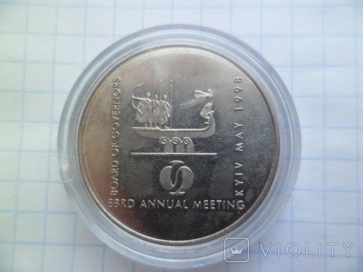 2 гривні 1998 Україна. Копия., фото №4