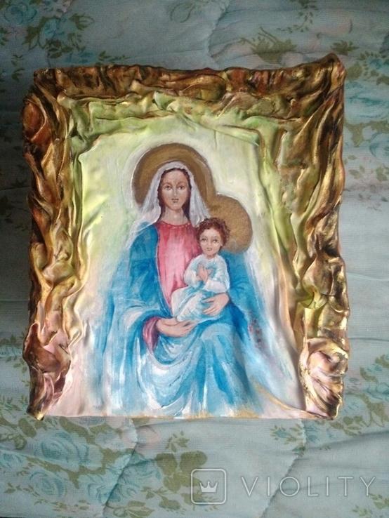 Икона на ткани, фото №3