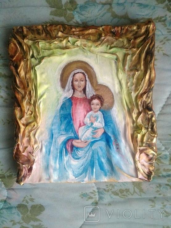 Икона на ткани, фото №8