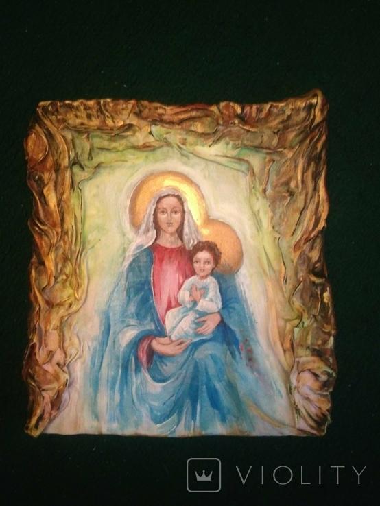 Икона на ткани, фото №2