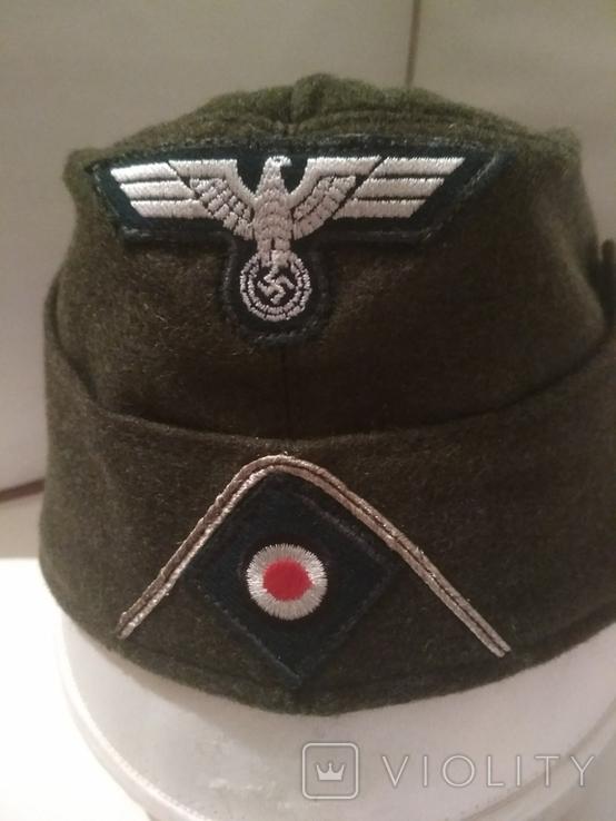 Копия.Пилотка вермахт (пехота), фото №2