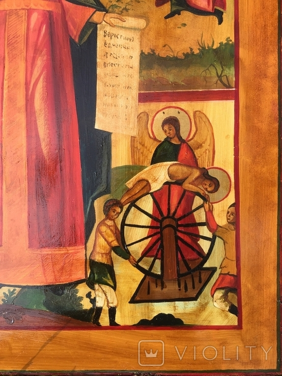 Икона Житие Екатерины, фото №5