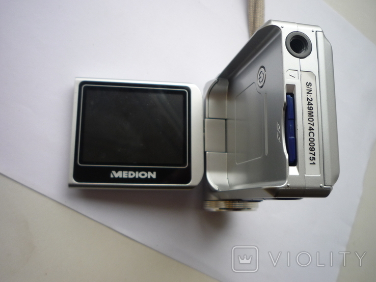 Цифровый фотоапарат медион германия, фото №4