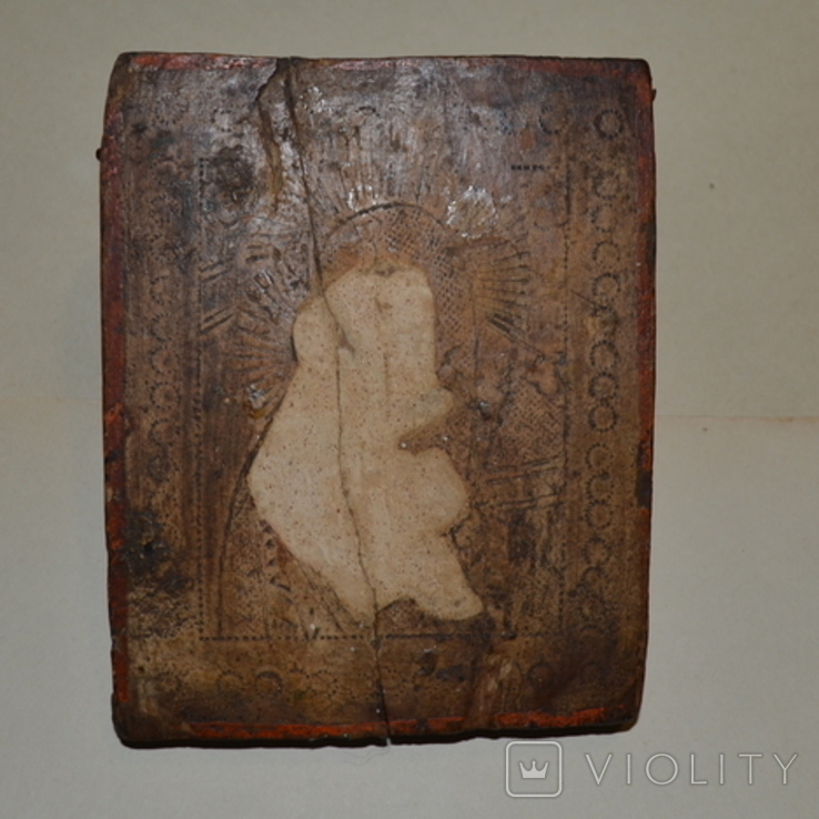 Икона под реставрацию без лика, фото №2