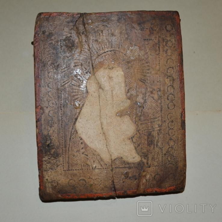 Икона под реставрацию без лика, фото №3