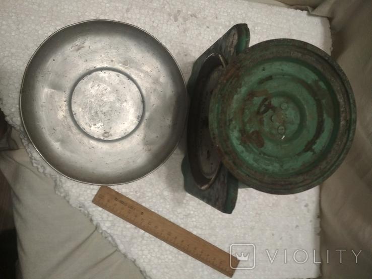 Весы бытовые СССР, на 5 кг., показатели точные, фото №3