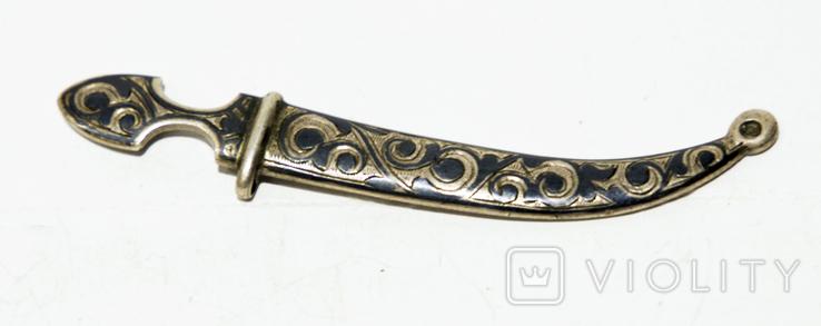 Серебряная сабелька