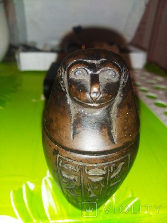 Статуэтка, Канопа Египетского жреца, фото №6